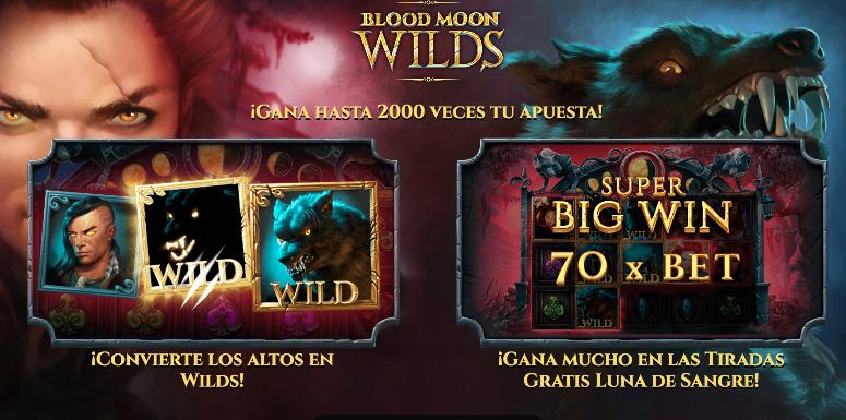 Tragamoneda Blood Moon Wilds